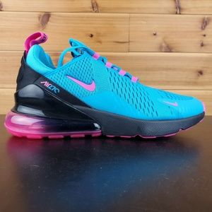 Nike Air Max 270 South Beach Blue Fuchsia